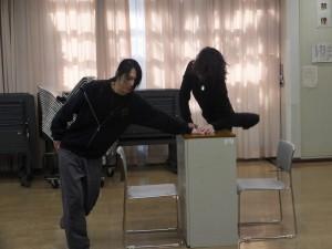 鈴木さんと星さんの呼吸を合わせていきます