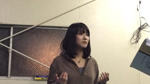 持ち前の透明感で、舞台に光を与える姉役田中さん!