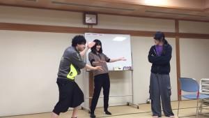 姉・田中さん、弟・千葉さん、男・星さんの若者3人衆。