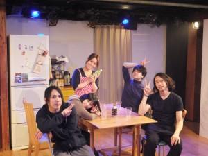 もうワンポース。星さん、田中さん、千葉さんもウキウキです!