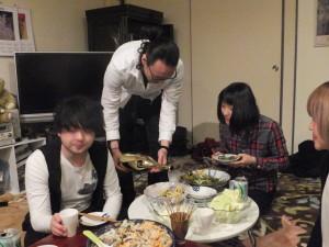 田中さんも合流!