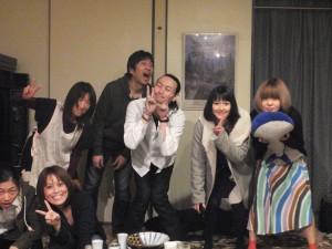 集合写真!酔っぱらってみんな壊れてますねえ