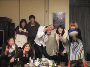 集合写真その2。伊藤さん夫妻もばっちり写ってます