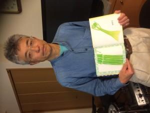 木内先生の著書「やさいのせなか」野菜と紙とクレヨンでとても面白い絵ができるんです!